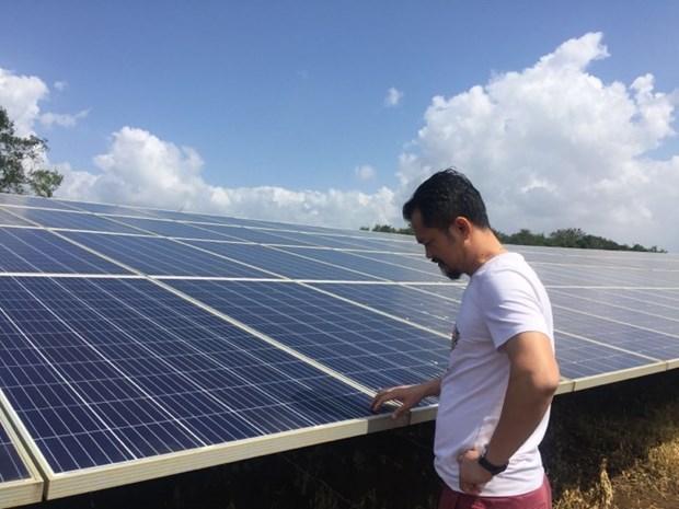 Vietnam en el camino de impulsar el desarrollo de energia solar hinh anh 1