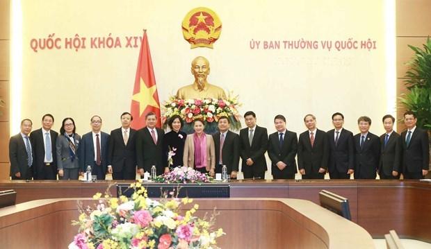 Representantes diplomaticos de Vietnam en ultramar por contribuir mas al desarrollo nacional hinh anh 1