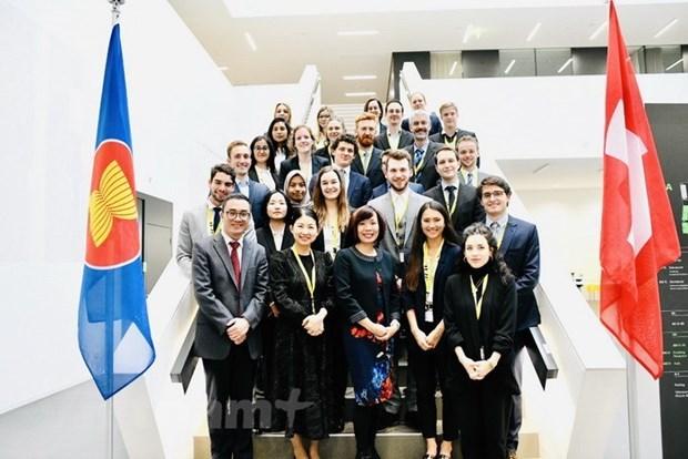 Destacan lazos de cooperacion entre Vietnam y Suiza hinh anh 1