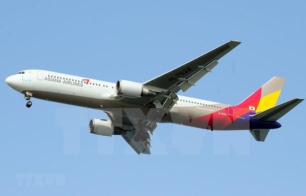 Asiana Airlines de Corea del Sur reduce operaciones de vuelo ante expansion de Covid- 19 hinh anh 1