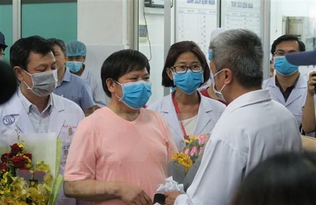 Recibe alta medica en Vietnam ultimo paciente chino infectado con el coronavirus hinh anh 1