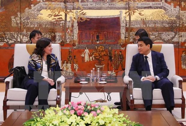 Hanoi reitera apoyo a actividades por el aniversario 60 de los lazos Vietnam-Cuba hinh anh 1