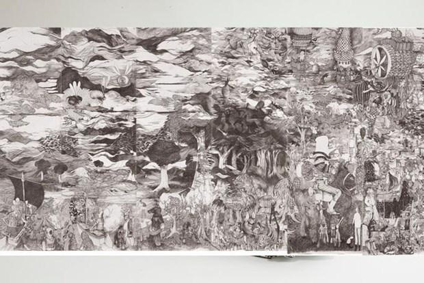 Artista frances expone en Vietnam evolucion de vinculos entre naturaleza y seres humanos hinh anh 1