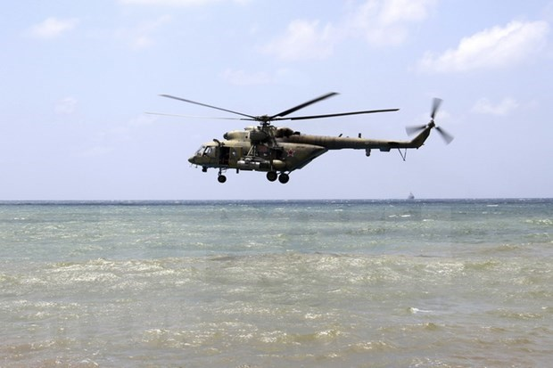 Halla Indonesia restos de victimas en helicoptero militar desaparecido hinh anh 1