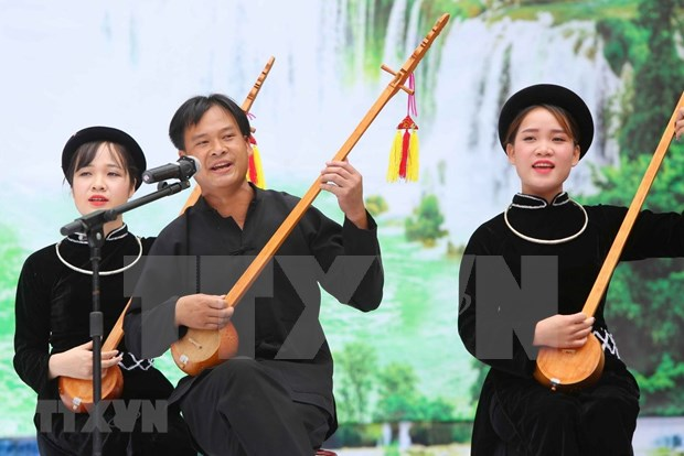 Practica Then: matiz unico en el tesoro cultural de Vietnam hinh anh 1