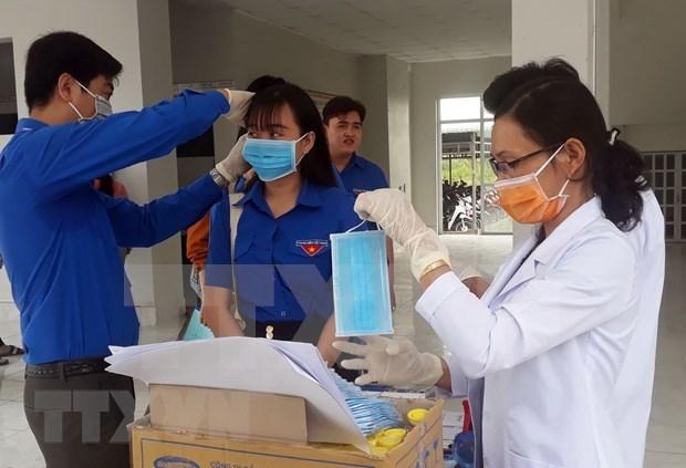 Garantizara sector textil vietnamita seis millones de mascarillas en febrero hinh anh 1