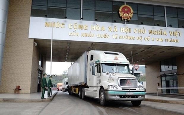 Aumentan exportacion de productos agricolas en puerta fronteriza en Lao Cai hinh anh 1
