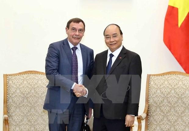 Elogia premier de Vietnam cooperacion con Rusia en lucha anticorrupcion hinh anh 1