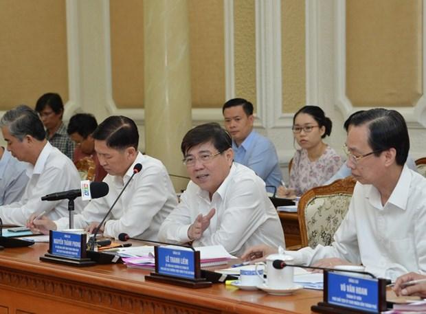 Ciudad Ho Chi Minh por adoptar medidas para impulsar produccion industrial hinh anh 1