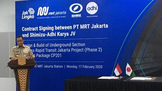 Capital de Indonesia comenzara segunda fase de milmillonario proyecto de metro hinh anh 1