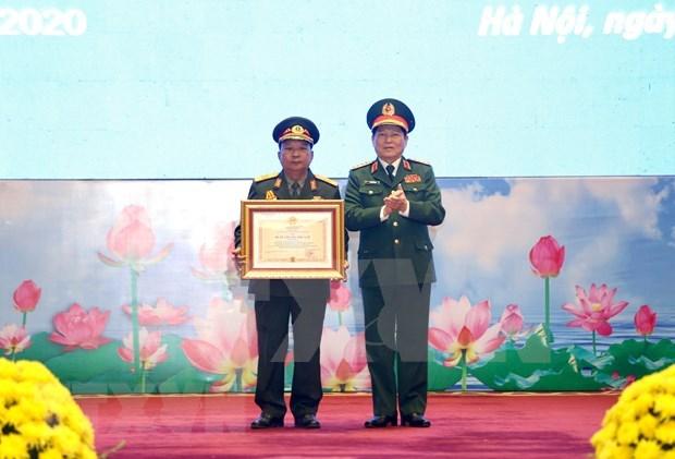 Conceden Ordenes de Estados de Vietnam y Laos a destacados militares hinh anh 1