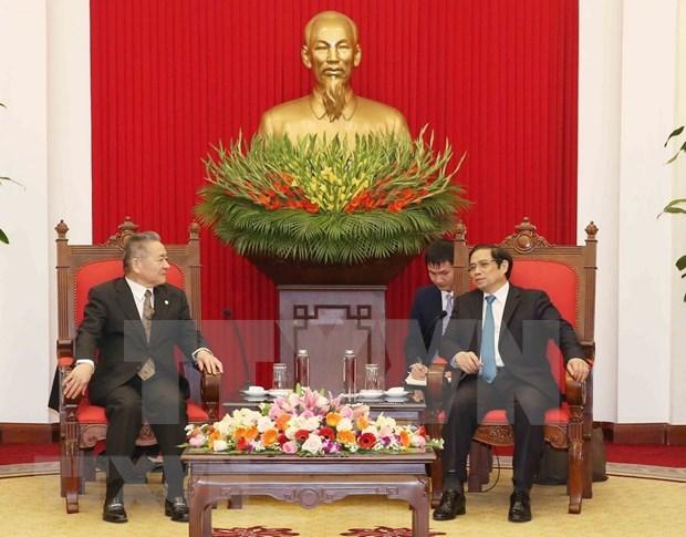 Delegacion del Partido Comunista de Japon visita Vietnam hinh anh 1