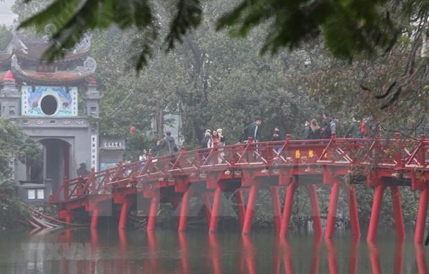 Hanoi se centra en el desarrollo del turismo inteligente hinh anh 1
