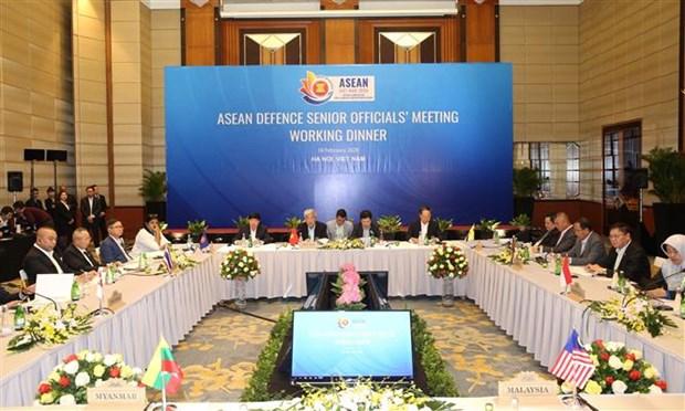 Altos funcionarios militares de ASEAN se dan cita en Vietnam hinh anh 1