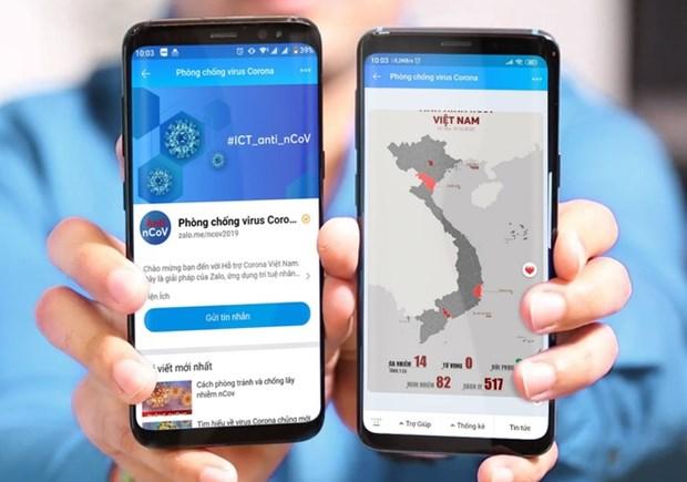 Lanzan en Vietnam herramienta de asistente virtual sobre informaciones de COVID-19 hinh anh 1