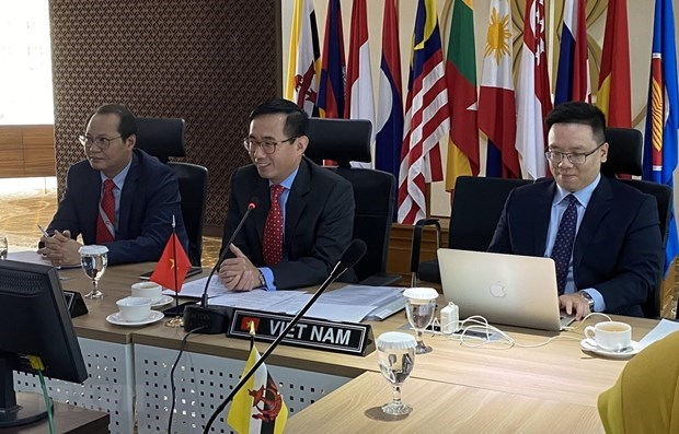 Preside Vietnam reunion del Comite Coordinador de Conectividad de la ASEAN hinh anh 1