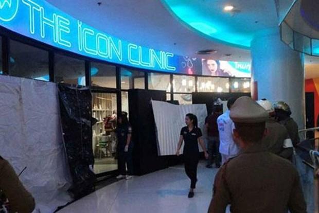 Tiroteo provoca un muerto en centro comercial de Bangkok hinh anh 1