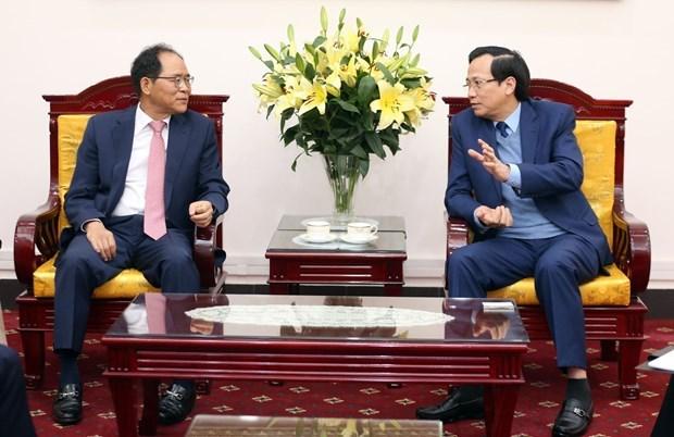 Fomentan Vietnam y Corea del Sur cooperacion en formacion vocacional hinh anh 1