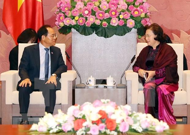 Resaltan lazos parlamentarios entre Vietnam y Corea del Sur hinh anh 1