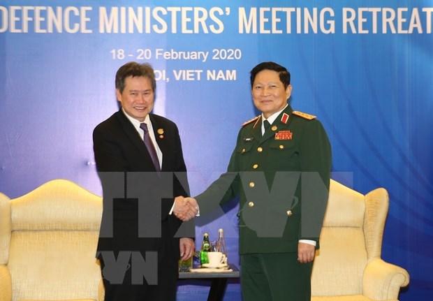 Inauguran en Hanoi reunion de ministros de Defensa de la ASEAN hinh anh 1