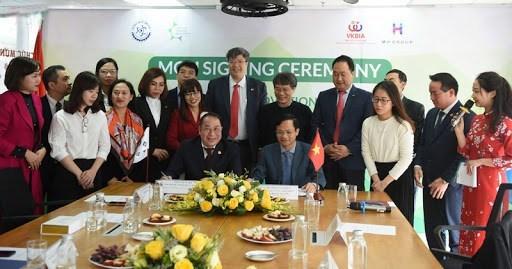 Promueven cooperacion tecnologica entre empresas de Vietnam y Corea del Sur hinh anh 1
