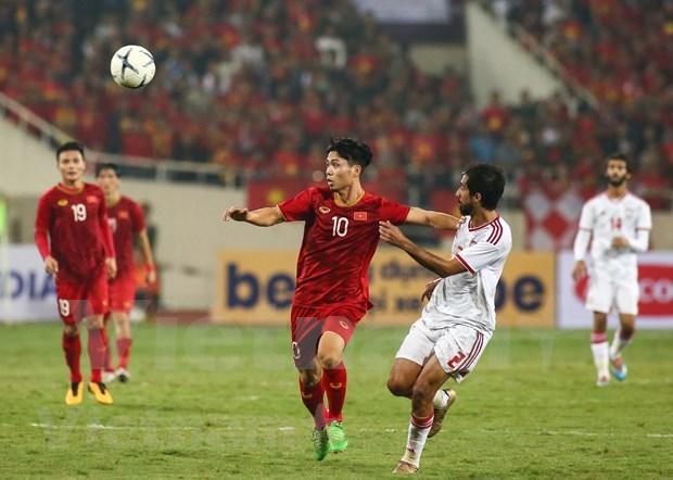 Cancelan partido amistoso de futbol entre Vietnam e Irak debido a COVID-19 hinh anh 1