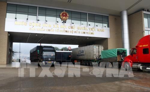 Promueven localidades vietnamitas medidas para recuperar intercambios comerciales con China hinh anh 1