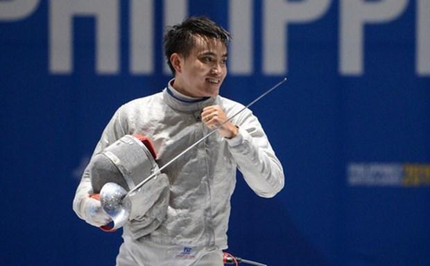 Esgrimista vietnamita busca puntos para Olimpicos en Copa Mundial en Polonia hinh anh 1