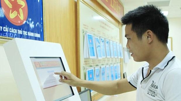 Registran mas de 50 mil usuarios en portal nacional de servicios publicos de Vietnam hinh anh 1