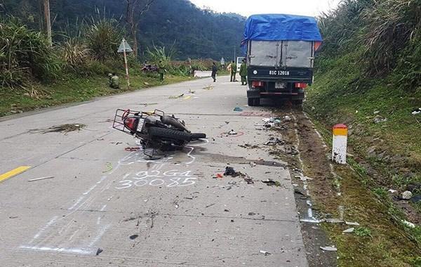 Fallecen dos turistas alemanes en accidente de trafico en Vietnam hinh anh 1