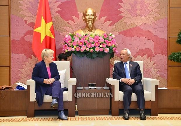 Vietnam valora nexos con Alemania, afirma vicepresidente parlamentario hinh anh 1