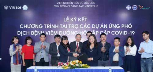 Vingroup respalda estudios para lucha contra COVID-19 en Vietnam hinh anh 1