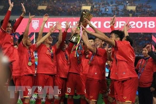 Vietnam mantiene primer puesto en futbol del Sudeste Asiatico hinh anh 1