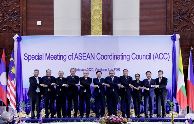 Ratifica ASEAN unidad en lucha contra COVID-19 hinh anh 1