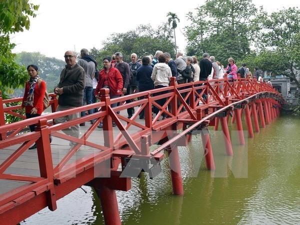 Muestra turismo de Hanoi senales de recuperacion hinh anh 1