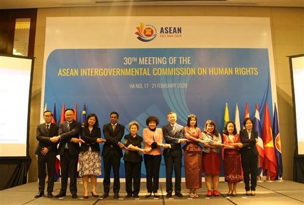 Sesiona en Vietnam Comision Intergubernamental de Derechos Humanos de la ASEAN hinh anh 1