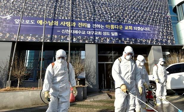 Recomiendan a vietnamitas evitar viajar a zonas afectadas por COVID- 19 en Corea del Sur hinh anh 1