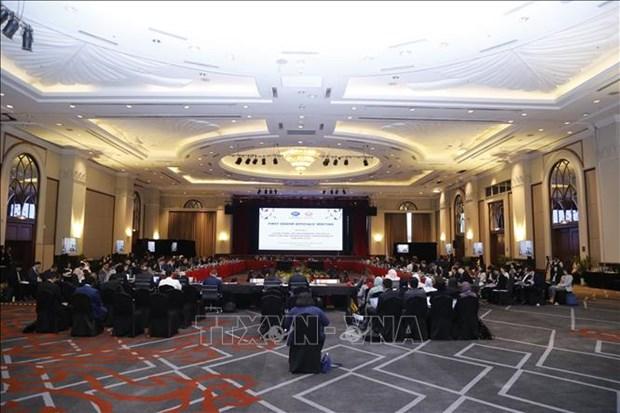 Vietnam asiste a primera Reunion de Altos Funcionarios del APEC 2020 hinh anh 1