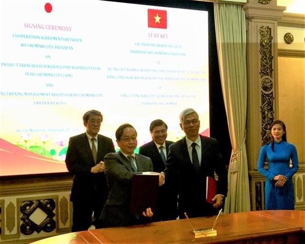 Japon ayuda a Ciudad Ho Chi Minh en desarrollo urbano hinh anh 1