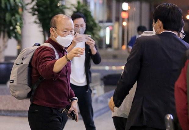 Vietnam vigila estado de salud del entrenador sudcoreano de su equipo nacional de futbol hinh anh 1