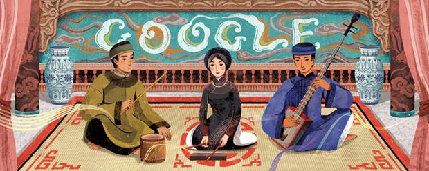 Google honra el canto Ca Tru, un genero musical tradicional de Vietnam hinh anh 1