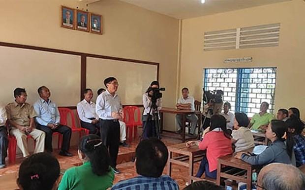 Imparten curso de idioma y cultura a ciudadanos de origen vietnamita en Camboya hinh anh 1