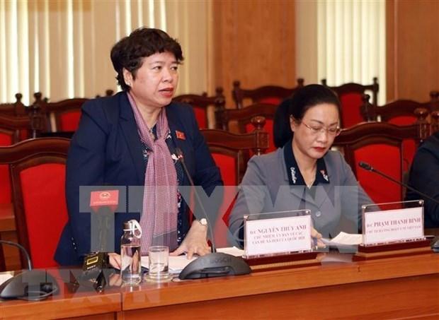 Dirigente parlamentaria elogia esfuerzos de Vinh Phuc en lucha contra coronavirus hinh anh 1