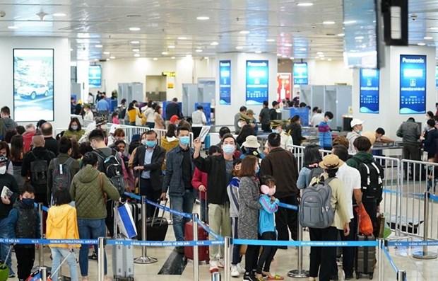 Refuerza Vietnam gestion sanitaria en puertas fronterizas para prevenir COVID-19 hinh anh 1