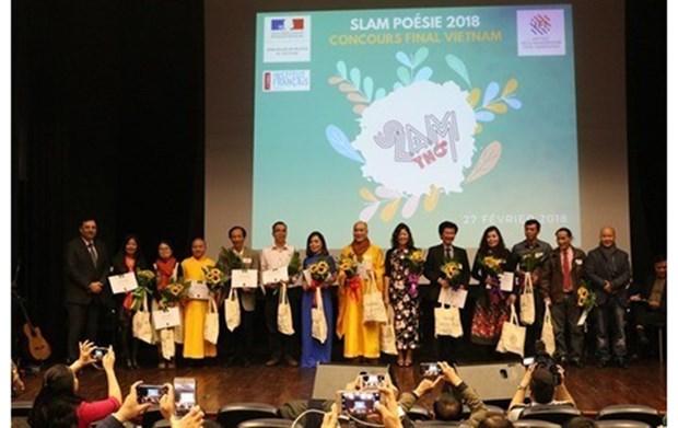 """Lanzan en Vietnam concurso de poesia en formato """"slam"""" hinh anh 1"""