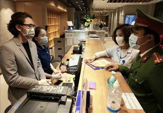 Hanoi mantiene labor preventiva para combatir el coronavirus hinh anh 1