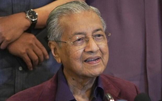 Rey de Malasia acepta la renuncia del primer ministro Mahathir hinh anh 1