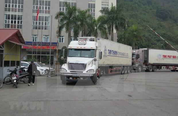 Reanuda provincia vietnamita parcialmente comercio con China hinh anh 1
