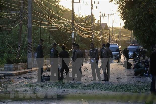 Al menos ocho heridos en ataque con bomba en Tailandia hinh anh 1