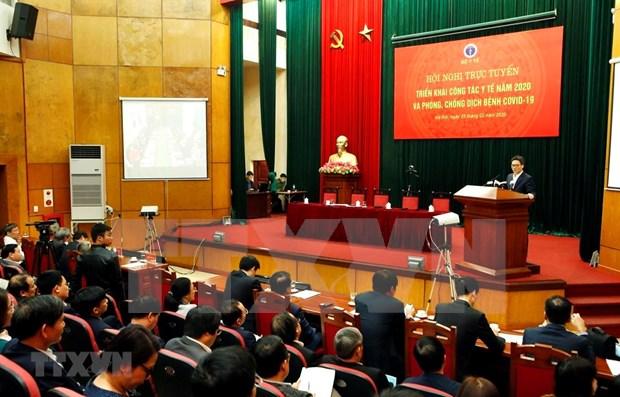 OMS reconoce acciones tempranas de Vietnam para prevenir COVID- 19, segun vicepremier hinh anh 1